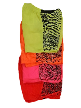 Boys Swimming Trunks With Print Assorted Color And Sizes
